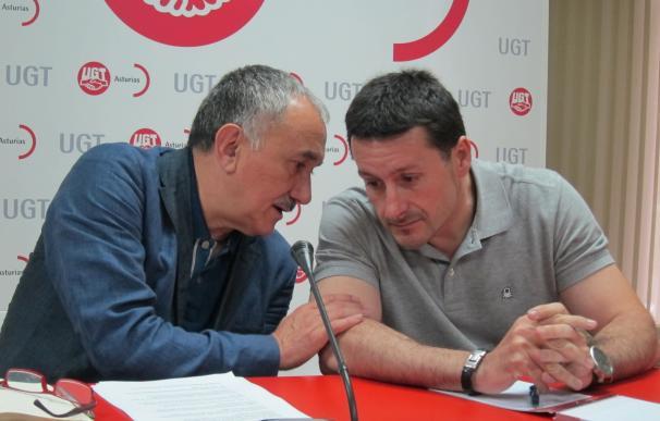 """UGT presentará recurso de amparo ante Estrasburgo por el """"procedimiento de película"""" contra los sindicalistas de Arcelor"""
