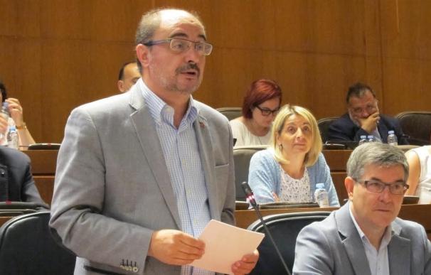 """Lambán seguirá la vía judicial en el litigio de Sijena """"hasta las últimas consecuencias"""