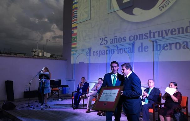 La Unión Iberoamericana de Municipalistas reconoce la contribución de la Diputación al municipalismo