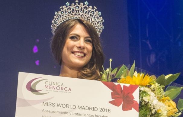 Conoce a la nueva Miss World Madrid 2016