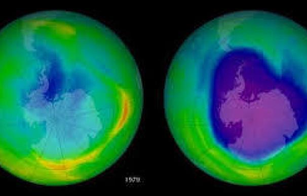 Científicos observan los primeros signos de curación en la capa de ozono en la Antártida