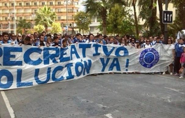 Recre, Murcia y Racing de Santander, en la lista negra de Hacienda