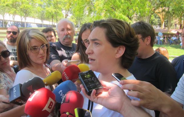 """Colau aboga por un referéndum pactado para no """"redoblar la frustración"""" en Catalunya"""