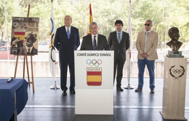 Correos honra al Barón Pierre de Coubertin con un sello conmemorativo antes de los Juegos de Río