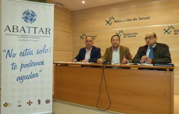 La DPT apoya con 8.500 euros a la Asociación Bajoaragonesa Turolense de Toxicómanos y Alcohólicos Rehabilitados