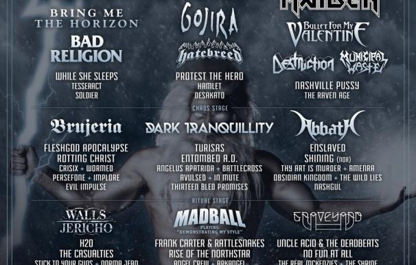 El XI Resurrection Fest de Viveiro acogerá a más de 75.000 aficionados al rock, metal y hardcore de más de 30 países