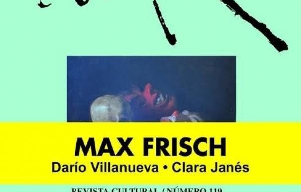 """La revista """"Turia"""" redescubre al escritor suizo Max Frisch"""