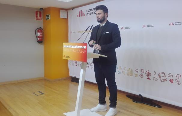 """Rufián ironiza con la ley de pluralidad lingüística del PSOE y critica su """"miopía política"""""""