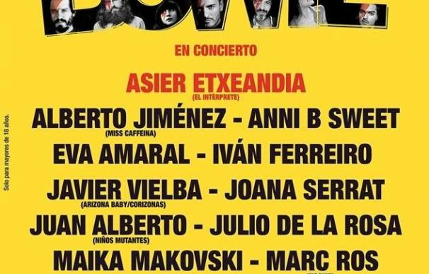 Amaral, Iván Ferreiro y Anni B Sweet honrarán a David Bowie en Madrid y Barcelona