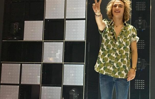 """Manel Navarro, tras su polémico gesto en Objetivo Eurovisión: """"Quería pedir disculpas por un gesto que tuve en directo"""""""
