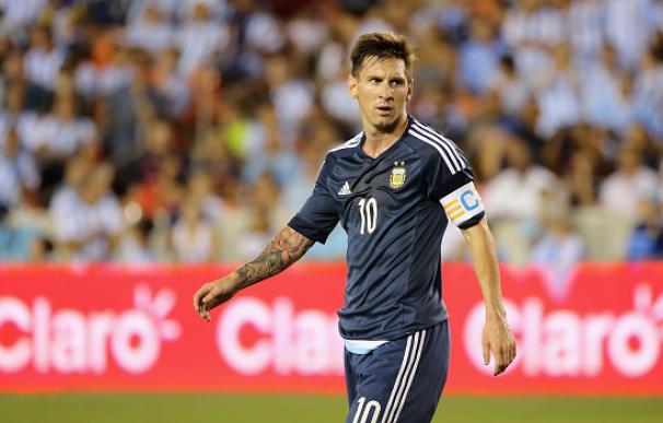 Messi, capitán y líder de Argentina