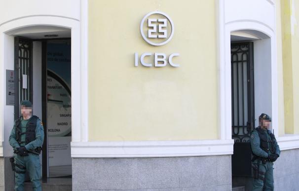 Los cinco detenidos del ICBC chino pasarán este viernes ante el juez