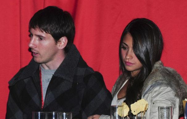 Messi y su novia Antonella Rocuzzo han sido padres de un niño llamado Thiago