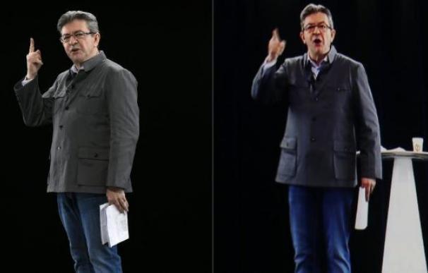 Los candidatos a la presidencia ya usan ¡hologramas!! en sus mítines