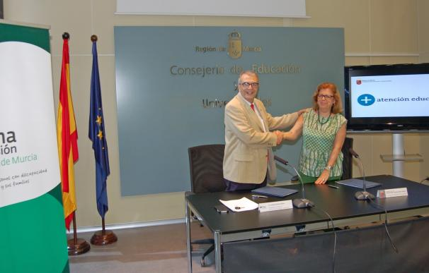 Murcia destina 600.000 euros a la atención de alumnos con necesidades especiales a través de Plena Inclusión
