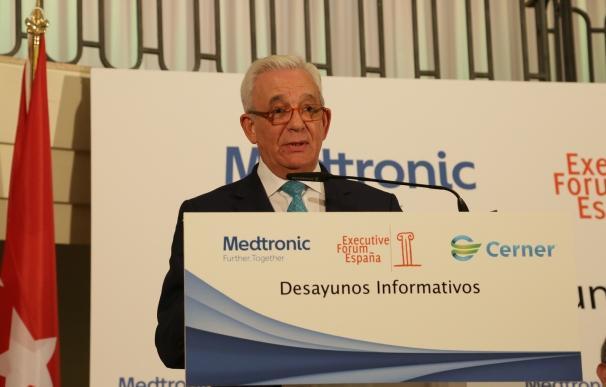 """Sánchez Martos dice que la Ley para profesionalizar los cargos directivos """"está a punto"""""""
