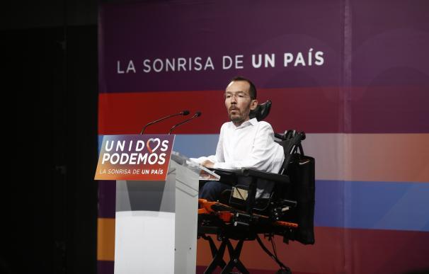 """Echenique reafirma que si es necesario será """"contundente"""" contra las actitudes que vetan y confrontan en Podemos"""