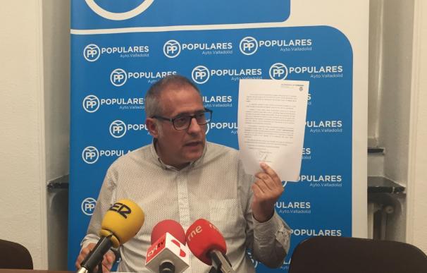 """PP de Valladolid acusa a Puente de """"parapetarse"""" en intervenciones sin límite de tiempo en el Pleno del próximo martes"""