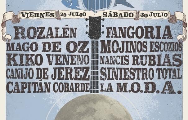 Mago de Oz, El Canijo, Kiko Veneno, Fangoria y Rozalén acudirán al festival IslaGo
