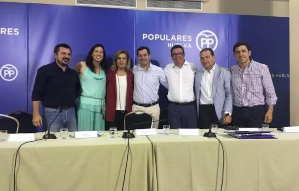 """Moreno (PP-A) señala que """"la derrota"""" de Díaz ha sido """"un castigo en clave nacional"""" tras impedir el gobierno el 20D"""