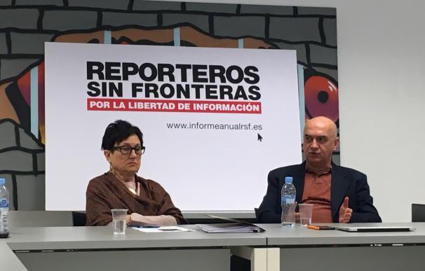 """RSF España denuncia """"el retroceso general"""" de la libertad de información en países democráticos en 2016"""