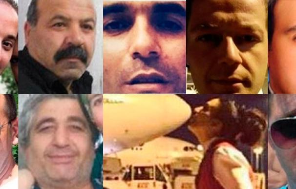Los rostros de la masacre en Turquía.