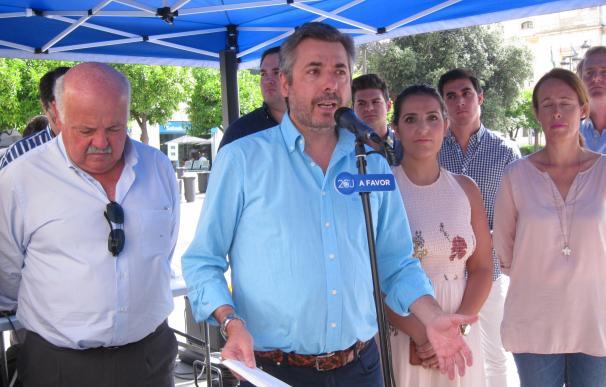 """El PP dice que la Junta está """"obligada"""" a investigar el destino de los fondos a fundaciones """"afines al PSOE"""""""