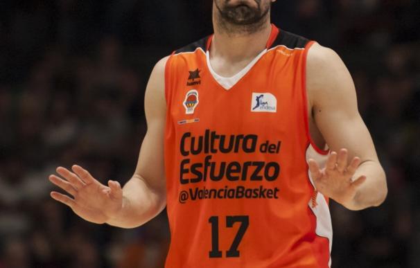 El capitán Rafa Martínez jugará su novena temporada en Valencia Basket