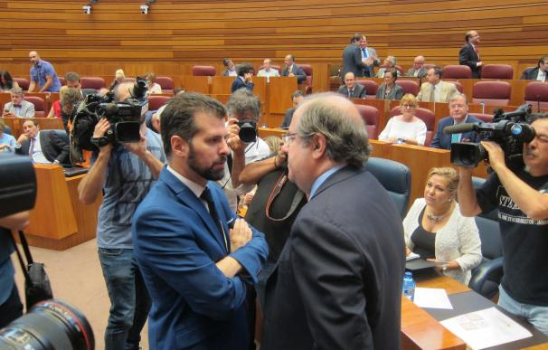 """Herrera a Tudanca: """"Nos hemos zurrado bien, pero yo le necesito, le pido que salga del modo elecciones"""""""