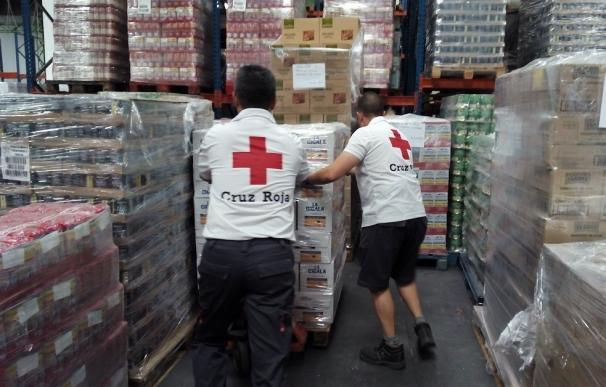 Cruz Roja Valladolid concluye el reparto de 137.359 kilos de alimentos que han llegado a 9.120 personas vulnerables