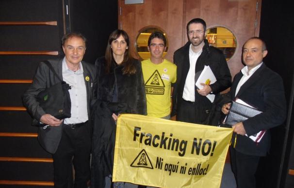 """UGAM-COAG volverá a defender el """"no al fracking"""" en Luena en el Parlamento Europeo"""