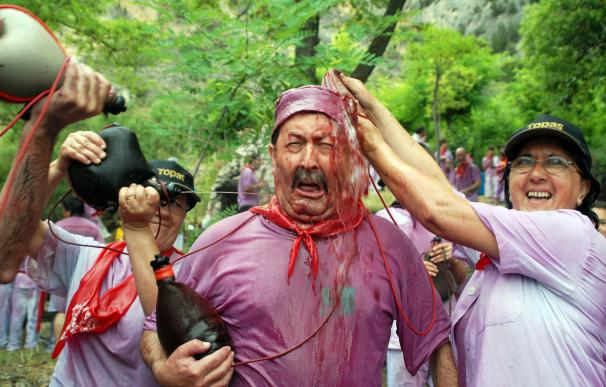 El 70% de los hoteles cuelgan el cartel de completo durante la Batalla del vino