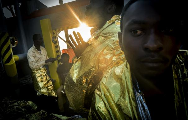 La Beca Photographic Social Vision recae en el relato de refugiados 'Libia, Europa o muerte'