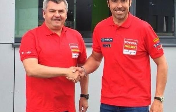 """Nani Roma abandona Mini y se une a Toyota para """"luchar por la primera victoria"""" del equipo en el Dakar"""