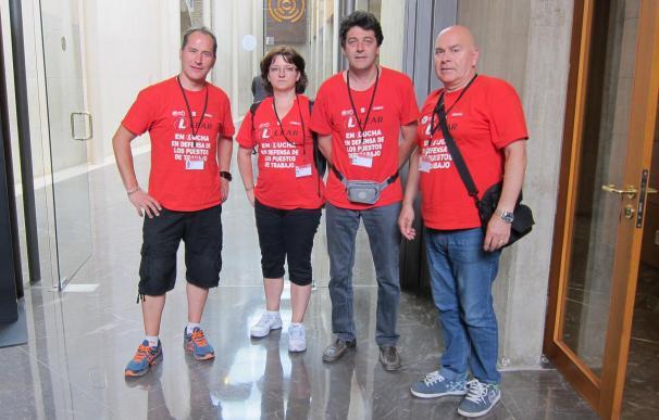 Las Cortes instan al Gobierno de Aragón a continuar mediando para mantener el empleo en Lear Épila