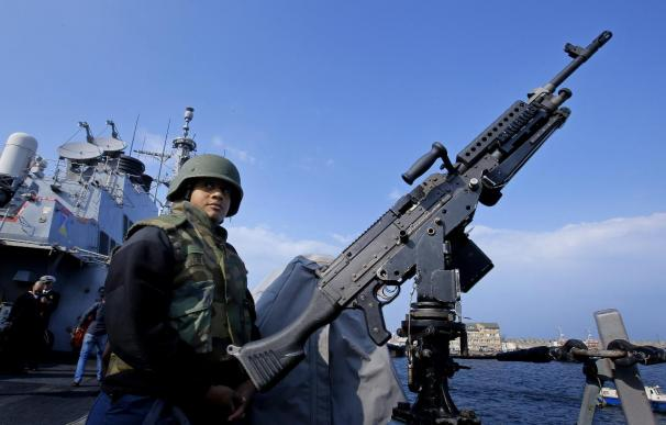 Un destructor de EEUU llega al Mar Negro ante la creciente tensión con Rusia