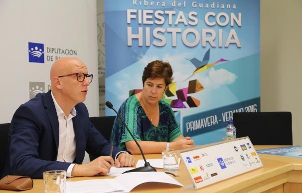 La Diputación de Badajoz impulsa una veintena de eventos culturales y religiosos en 'Fiestas con Historia'