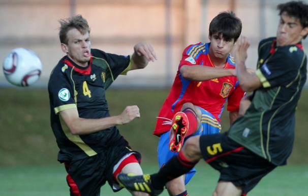 La selección española a por el Europeo sub-19 de Rumanía 2011