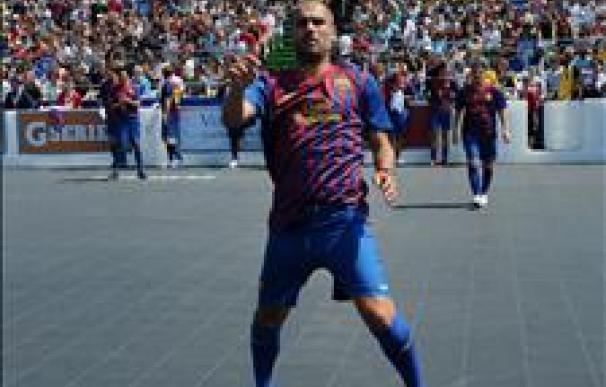 El Barcelona realizará dos entrenamientos este lunes en Miami