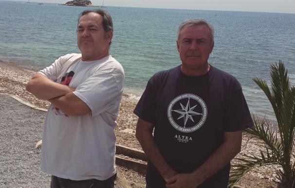 Barranquí y MacDiego, autores del texto poético y el cartel del Castell de l'Olla 2016