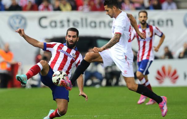 Atlético - Sevilla: las mejores fotos del partido