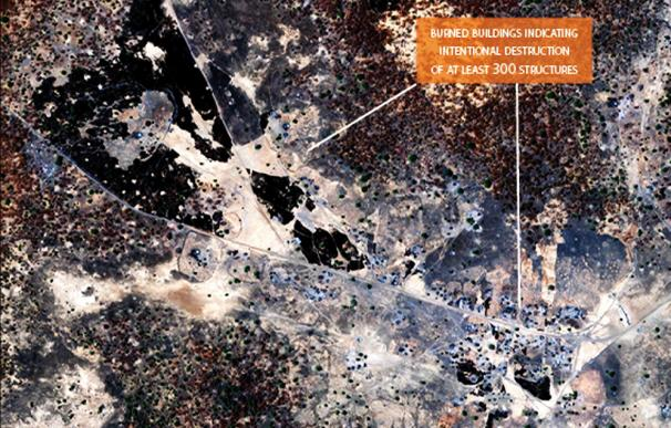 El Satellite Sentinel Project vigila la futura frontera que dividirá a Sudán.