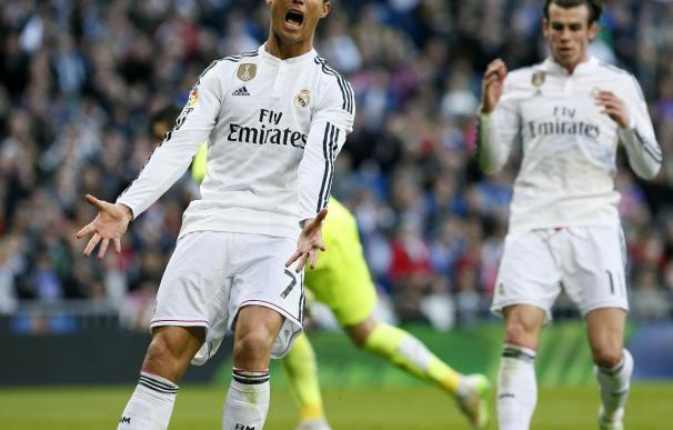 El Madrid se deja dos puntos en el Bernabéu.