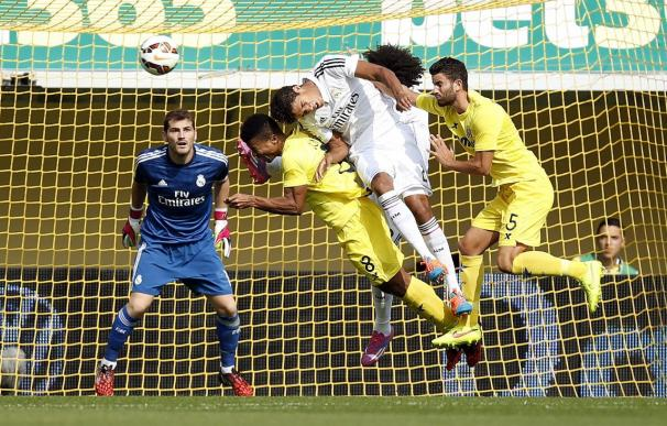 0-2. El Real Madrid presume de pegada ante el Villarreal