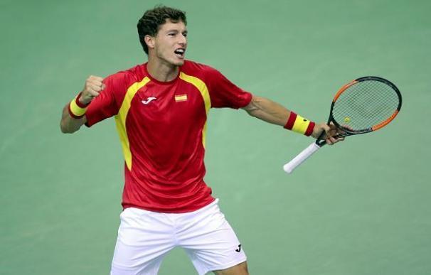 Pablo Carreño vence a Mektic y pone a España en cuartos de la Davis