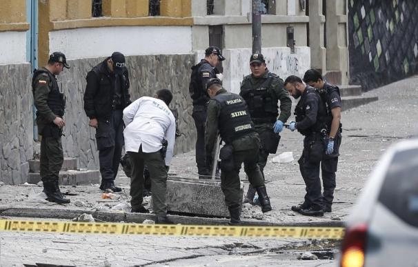 Una treintena de heridos por una explosión cerca de la plaza de toros de Bogotá
