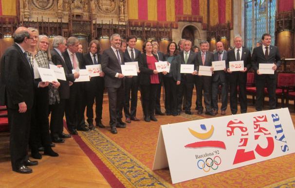 Barcelona conmemora los 25 años de los Juegos Olímpicos con un programa de actividades