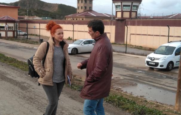 Carreño reclama más funcionarios en la cárcel de Logroño y más opciones laborales para la reinserción de los reclusos