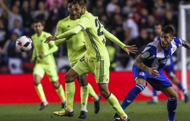 El Betis regresa este mismo viernes a Sevilla tras la suspensión del encuentro ante el Deportivo