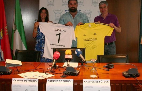 El campus de la Fundación Iker Casillas recala por primera vez en Cartaya
